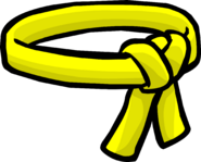 Yellow Ninja Belt icon