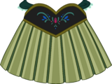 Anna's Coronation Dress