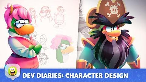 Dev Diaries Character Design Disney Club Penguin Island