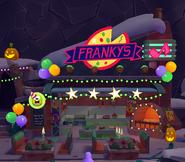 Franky's exterior Halloween 2017