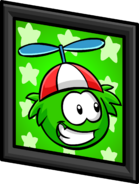 Green Puffle Picture sprite 003