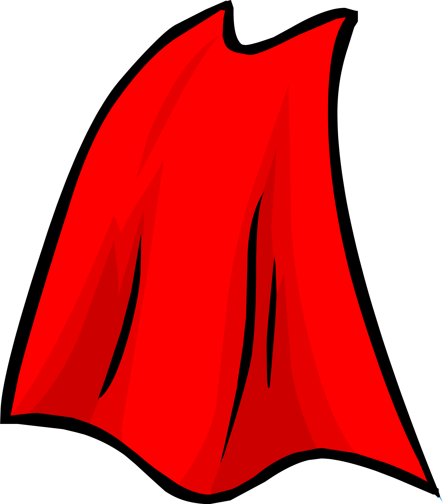 Image result for red superhero cape png club penguin
