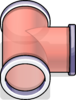 T-joint Puffle Tube sprite 078