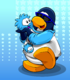 Awesome Blue Puffle card image