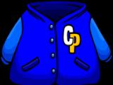 Blue Letterman Jacket