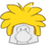 Gold Puffle Cap icon