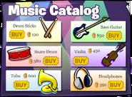 Music Jam 2008 Music Catalog