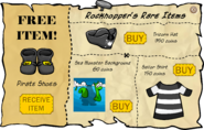 Rockhopper's Rare Items March 2007