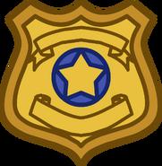 Zootopia Party Badge emoticon