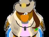 Entrenadora de Puffles