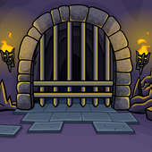 Cave Gate Background
