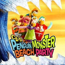 Club Penguin Monster Beach Party cover art