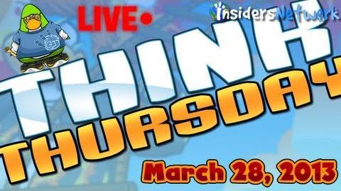 Club Penguin Think Thursday Live - Meeting PH Again!