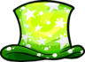 Green Cosmic Hat clothing icon ID 1179