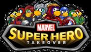 Marvel Super Hero Takeover Party Logo