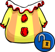 Unlockable clown suit