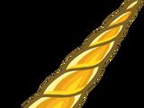 Golden Unicorn Horn
