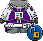 Purple Space Suit unlockable icon