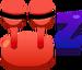 Emoticón de Sueño cangrejo