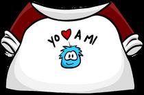 Love My Puffle T-Shirt clothing icon ID 205