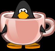Spot of Tea on a Player Card