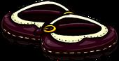 BurgundyBuckleShoes