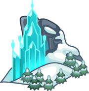 Frozen Party Elsa's Ice Palace Map Icon