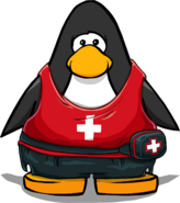 Lifesaver Outfit from a Player Card
