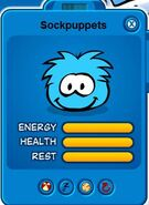 Sockpuppets-puffle
