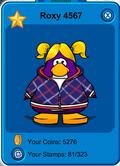Player Card Roxy 4567