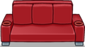 Red Designer Couch sprite 001