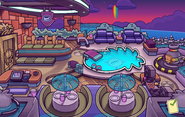 The Fair 2014 Puffle Hotel Roof