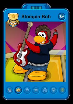 Bob Stompin' Card Player.