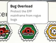 Bug overload stamp book
