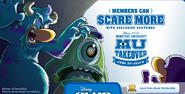 Monsters University Member Log In