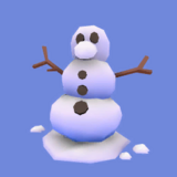 Muñeco de Nieve Icono