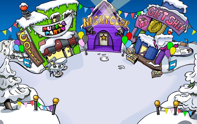 Image result for club penguin puffle party 2009