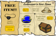 Rockhopper's Rare Items October 2006