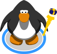 Royal Blue Scepter In-Game