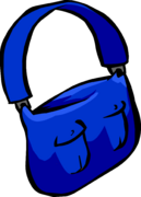 Blue Mail Bag icon ID 317