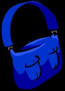 Blue Mail Bag icon ID 317