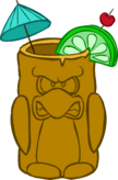 Brown Tropical Cup icon