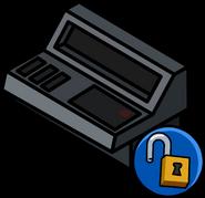 Consola de Computadora icono desbloqueable