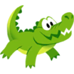 Decal Crocodile icon