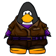 Delivery Outfit from a Player Card