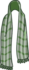GreenPlaidScarf