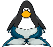 Merpenguin Fin from a Player Card