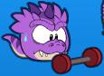 Puffle T-Rex Morado 2