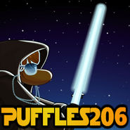 Puffles Star Wars Icon