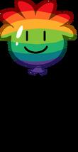 Globo de Puffle Multicolor icono